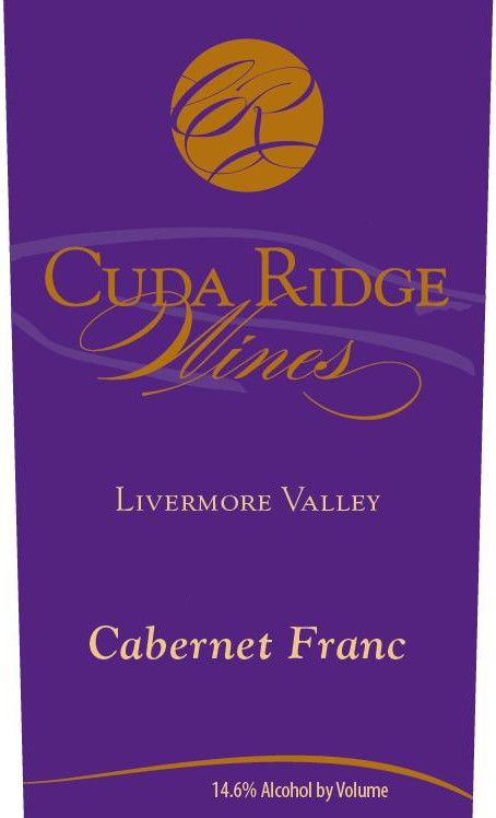 Cuda Ridge Wines Cabernet Franc 2011  Front Label