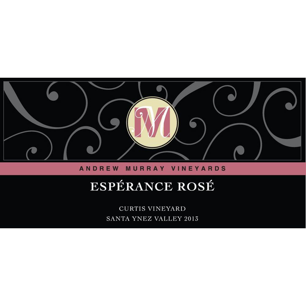 Andrew Murray Esperance Rose 2019  Front Label