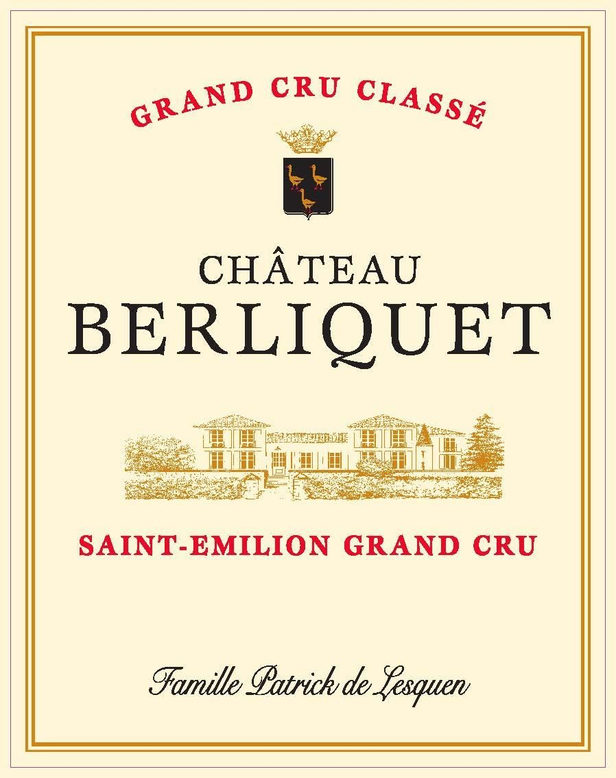 Chateau Berliquet (Futures Pre-Sale) 2018  Front Label