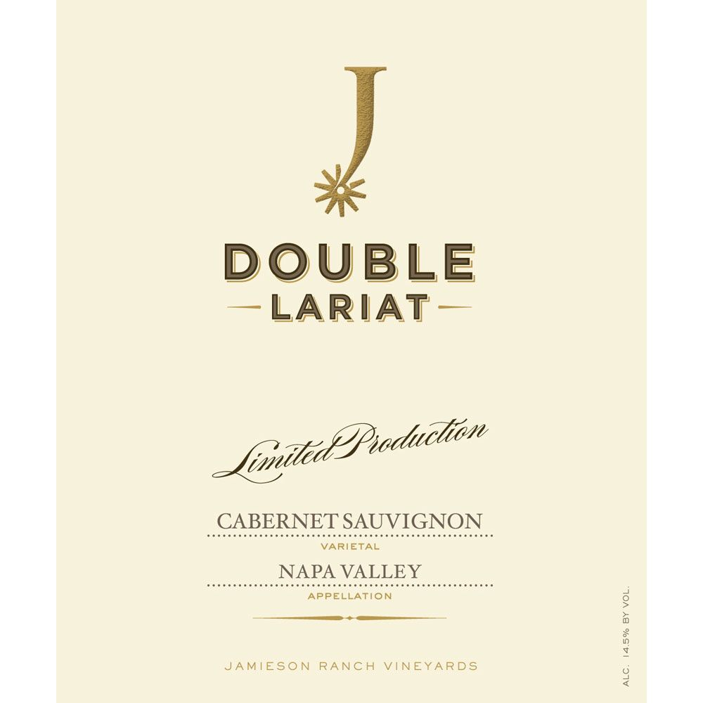Jamieson Ranch Vineyards Double Lariat Cabernet Sauvignon 2016  Front Label