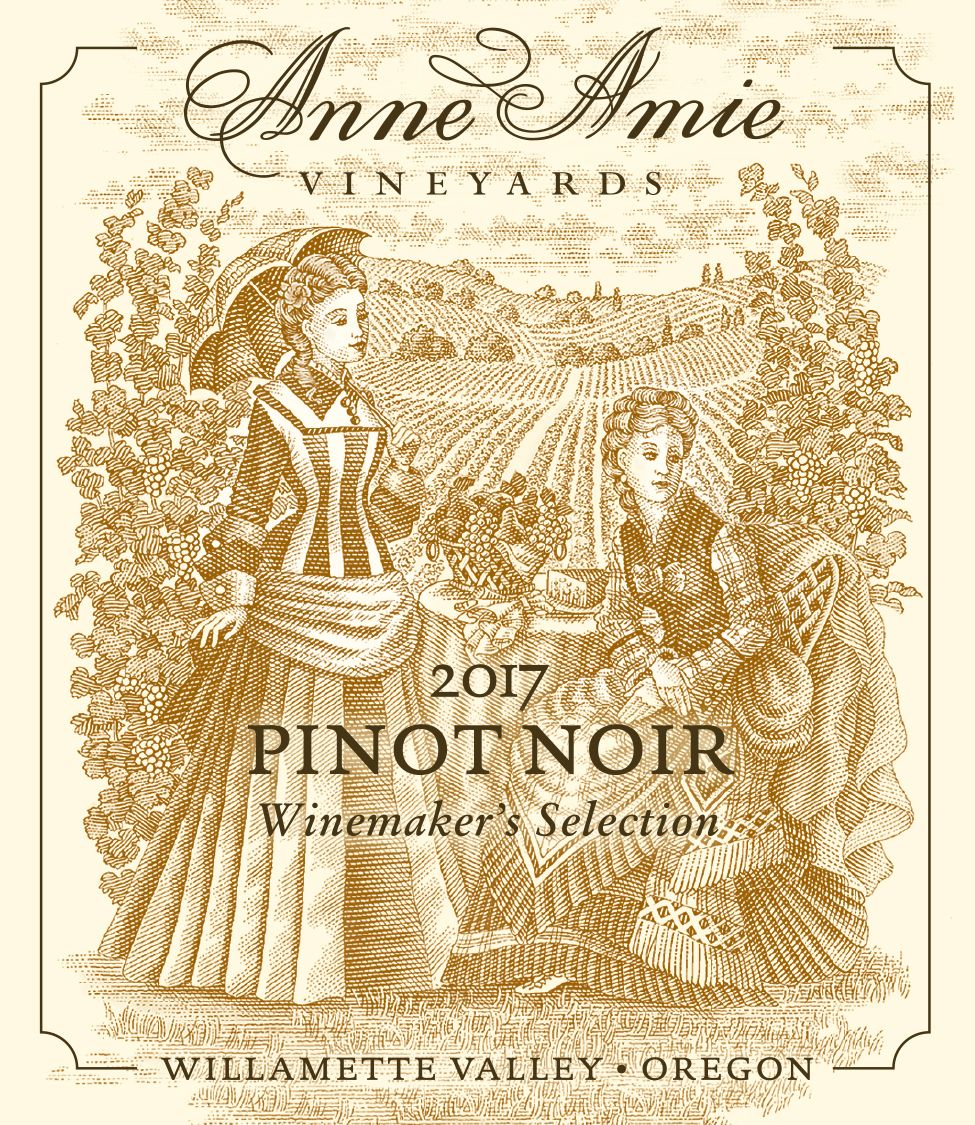Anne Amie Winemaker's Selection Pinot Noir 2017  Front Label