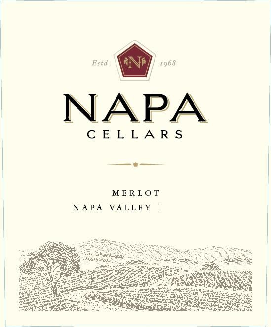 Napa Cellars Merlot 2017  Front Label