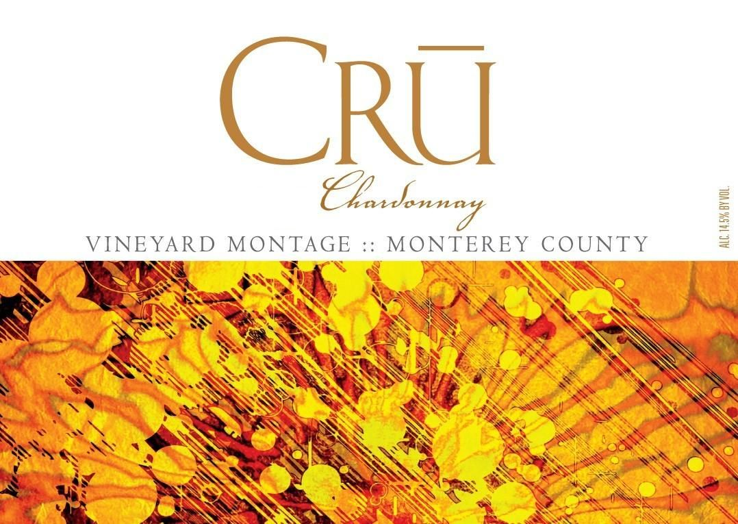 CRU Montage Vineyard Chardonnay 2015 Front Label