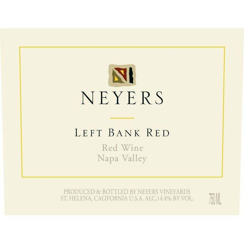Neyers Left Bank Red 2018  Front Label
