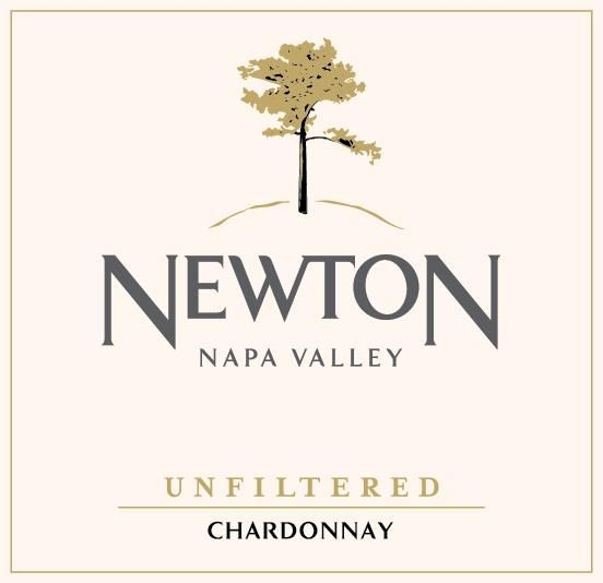 Newton Unfiltered Chardonnay 2017  Front Label