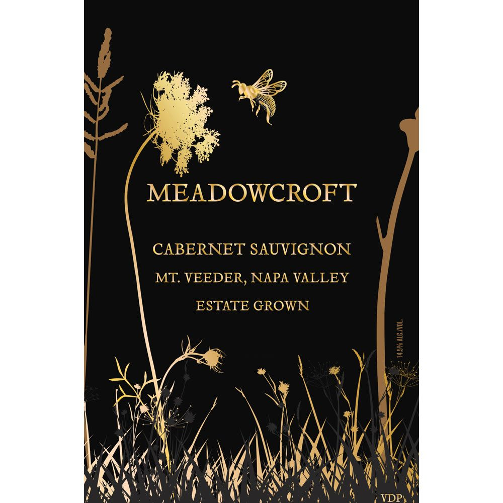 Meadowcroft Mt. Veeder Estate Cabernet Sauvignon 2016  Front Label
