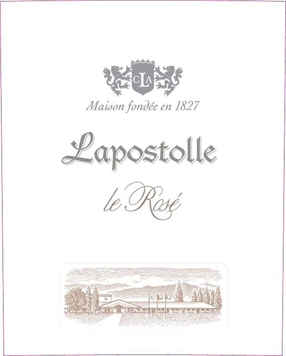 Lapostolle Le Rose 2018 Front Label