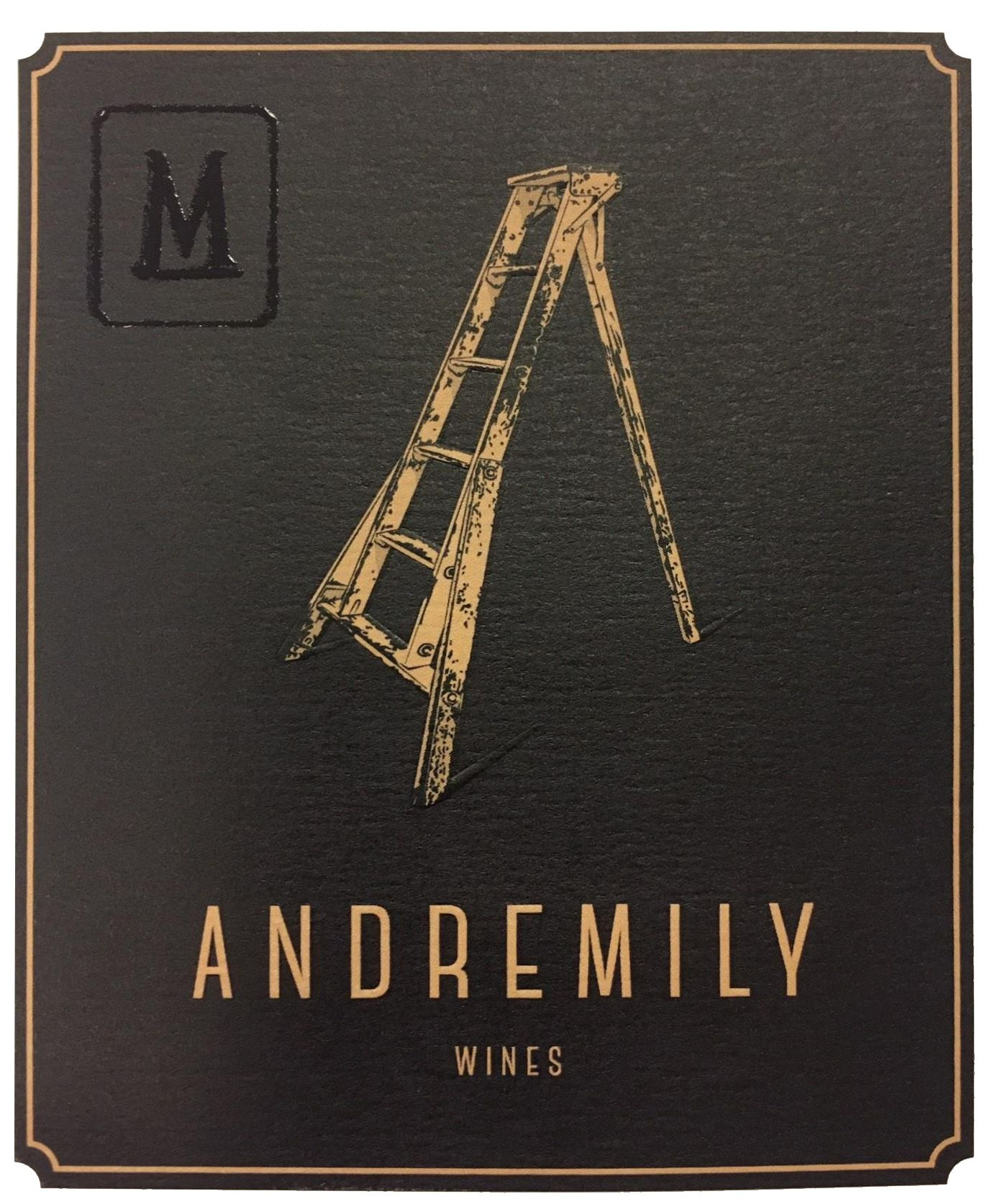 Andremily Mourvedre 2015  Front Label