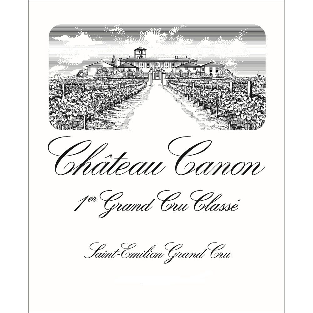 Chateau Canon (375ML half-bottle) 2016  Front Label