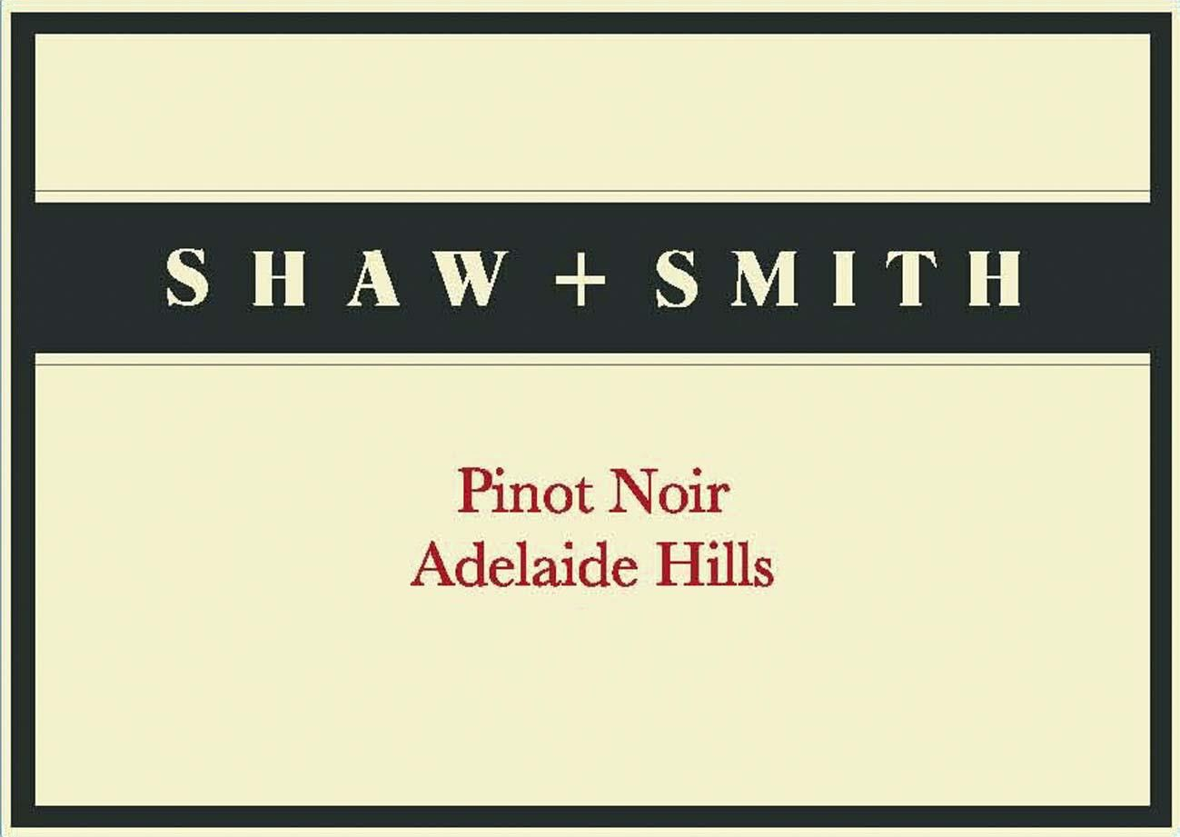 Shaw & Smith Pinot Noir 2018  Front Label