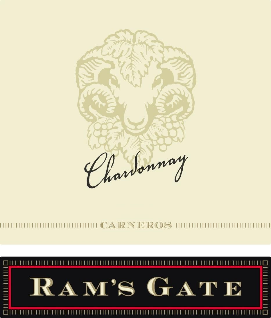 Ram's Gate Winery Chardonnay 2016  Front Label