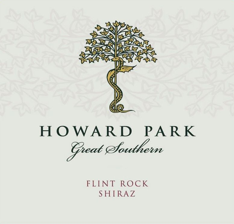 Howard Park Flint Rock Shiraz 2016  Front Label