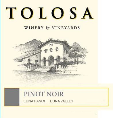 Tolosa Winery Estate Pinot Noir 2016  Front Label
