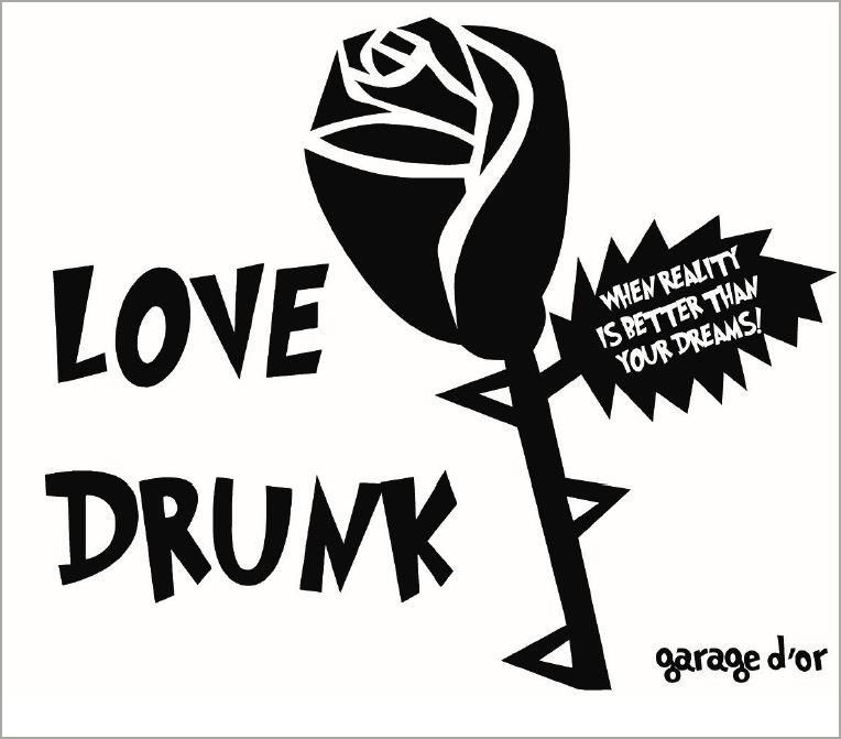 Maison Noir Love Drunk Rose 2019  Front Label