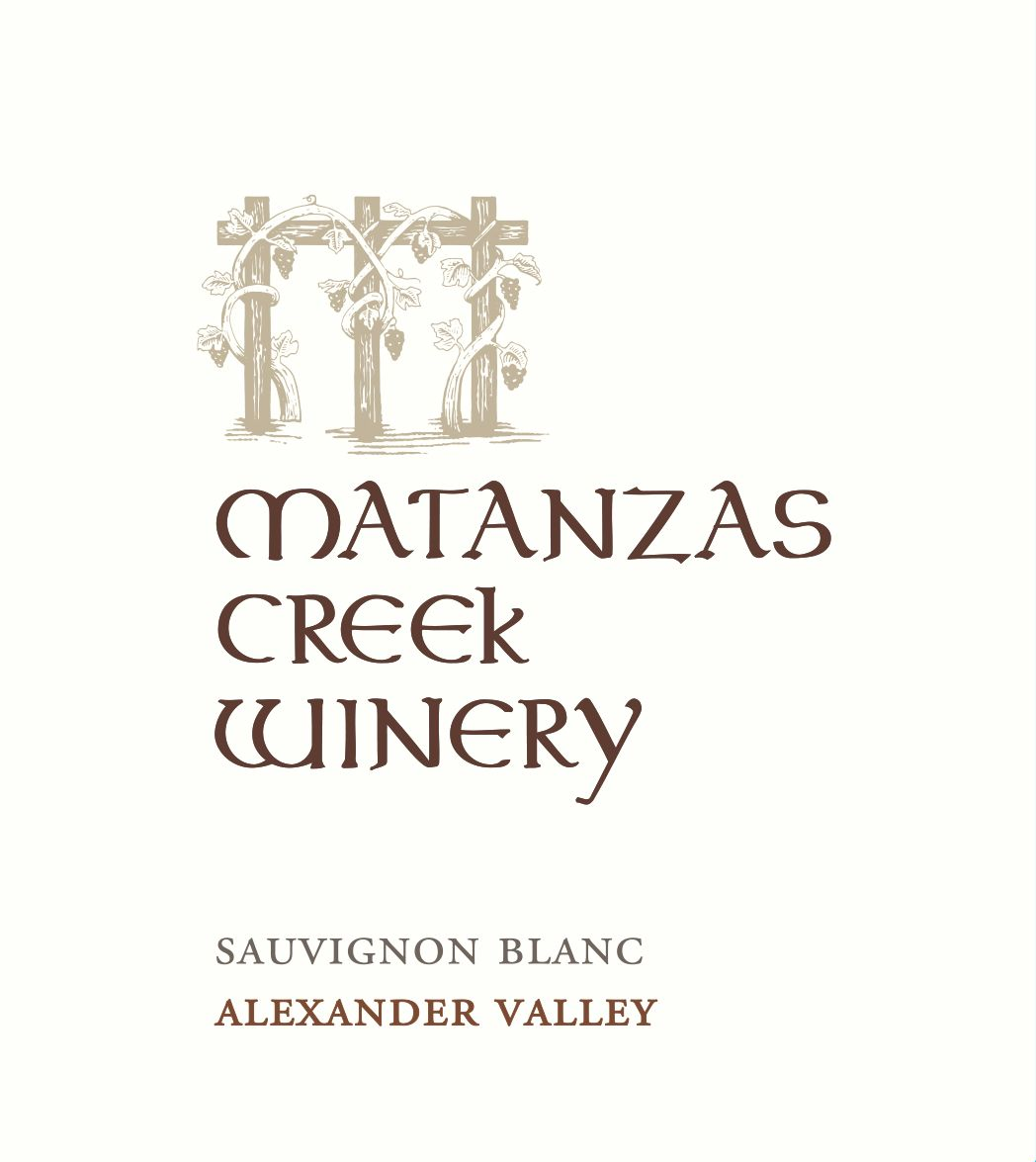 Matanzas Creek Alexander Valley Sauvignon Blanc 2018  Front Label