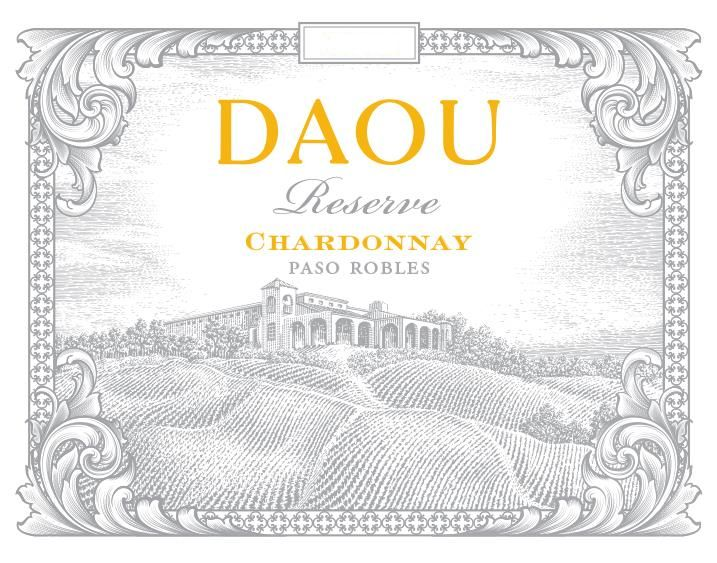 DAOU Vineyards Reserve Chardonnay 2017 Front Label