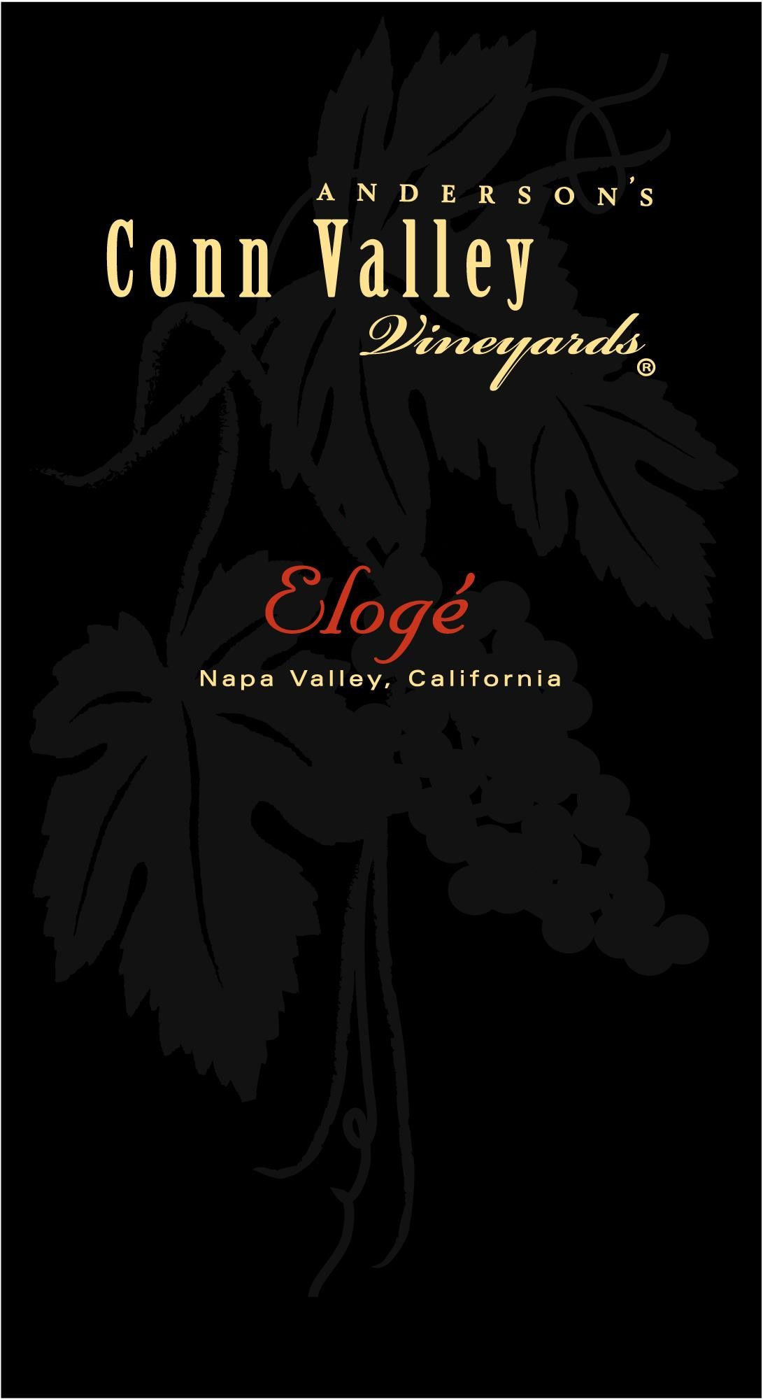 Anderson's Conn Valley Vineyards Eloge 2017  Front Label