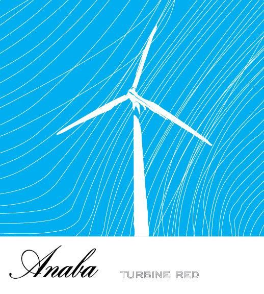Anaba Turbine Red 2011 Front Label