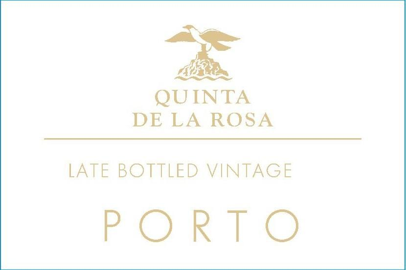 Quinta de la Rosa Late Bottled Vintage Port (500ML) 2015  Front Label