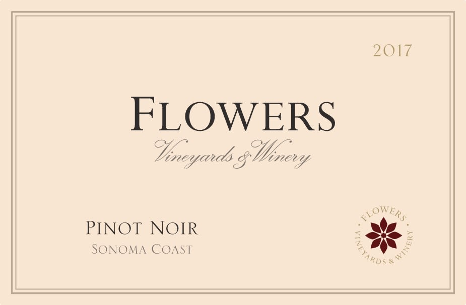Flowers Sonoma Coast Pinot Noir 2017 Front Label