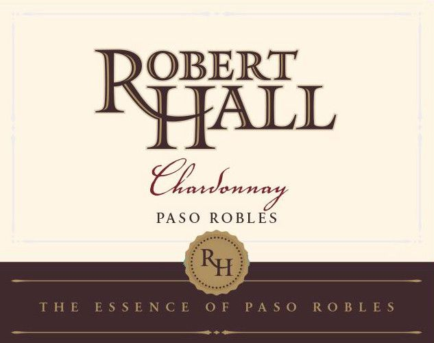 Robert Hall Chardonnay 2016 Front Label