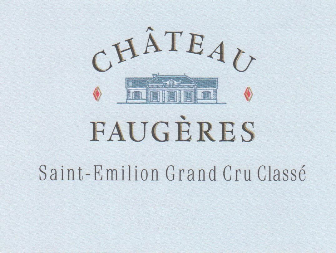 Chateau Faugeres (Futures Pre-Sale) 2018  Front Label