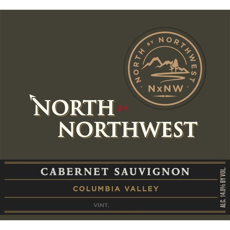 North by Northwest NxNW Columbia Valley Cabernet Sauvignon 2015 Front Label