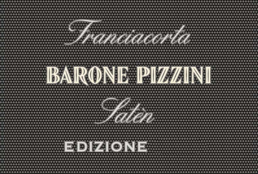 Barone Pizzini Saten Franciacorta 2014  Front Label