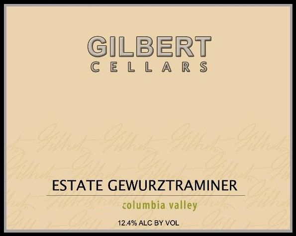 Gilbert Cellars Gewurztraminer 2009 Front Label