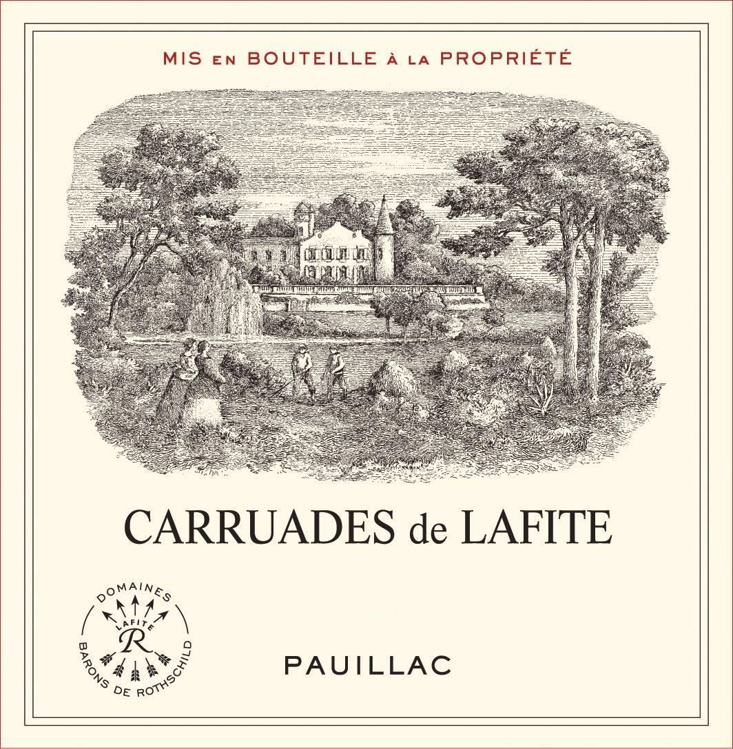 Carruades de Lafite (Futures Pre-Sale) 2018  Front Label