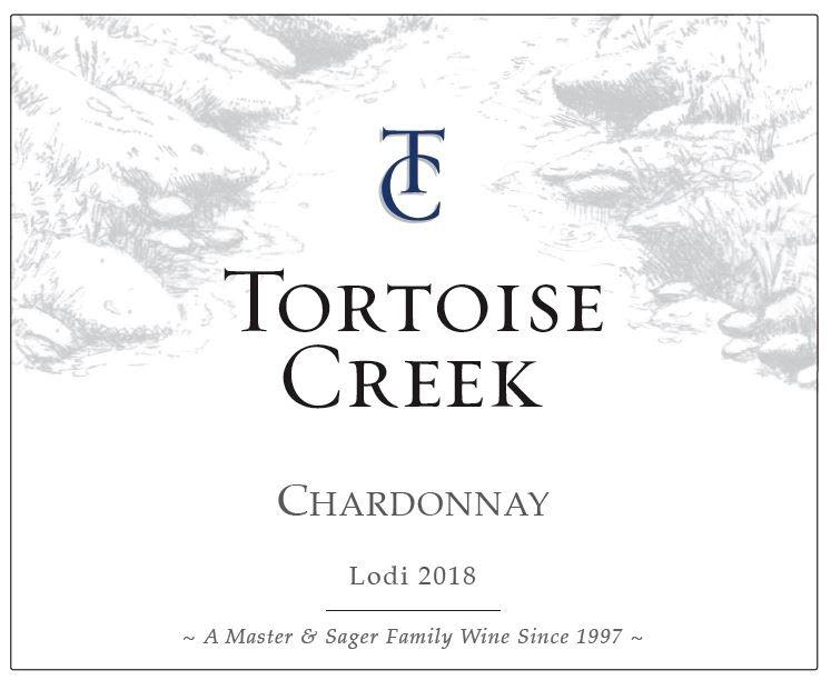 Tortoise Creek Chardonnay 2018  Front Label