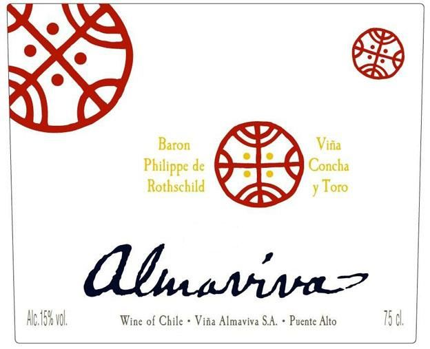 Almaviva Red 2016 Front Label