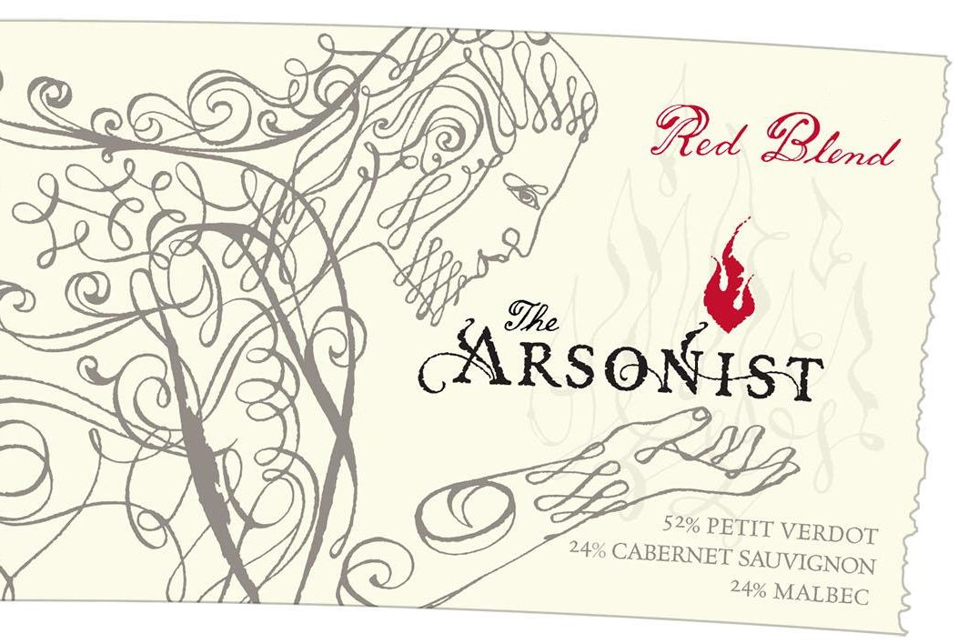 Matchbook Arsonist Red Blend 2017  Front Label