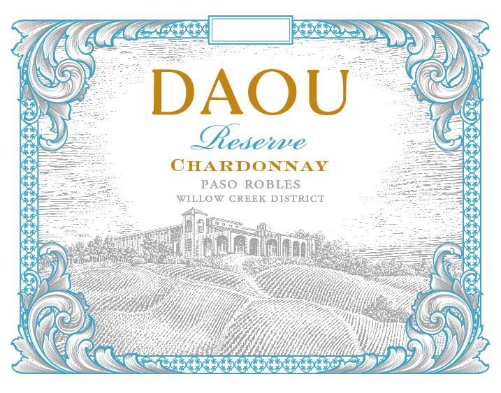 DAOU Vineyards Reserve Chardonnay 2019  Front Label
