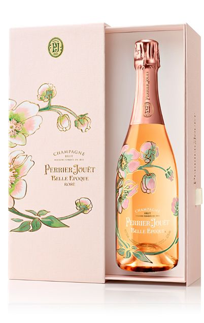 Perrier-Jouet Rose Belle Epoque with Gift Box 2012  Front Label