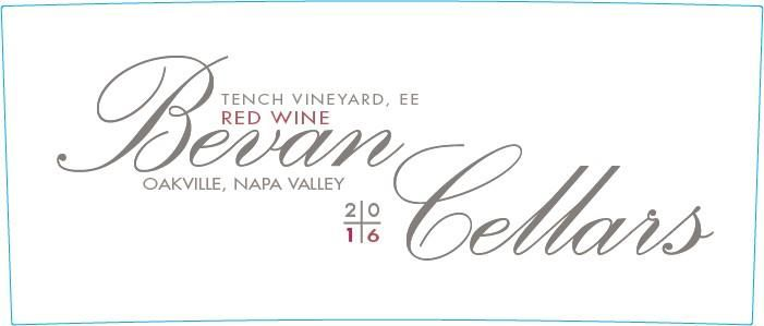 Bevan Cellars Proprietary Red EE Tench Vineyard 2016 Front Label