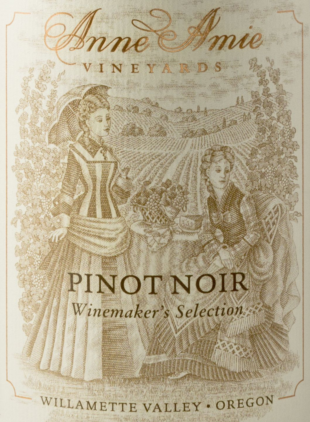 Anne Amie Winemaker's Selection Pinot Noir 2016  Front Label