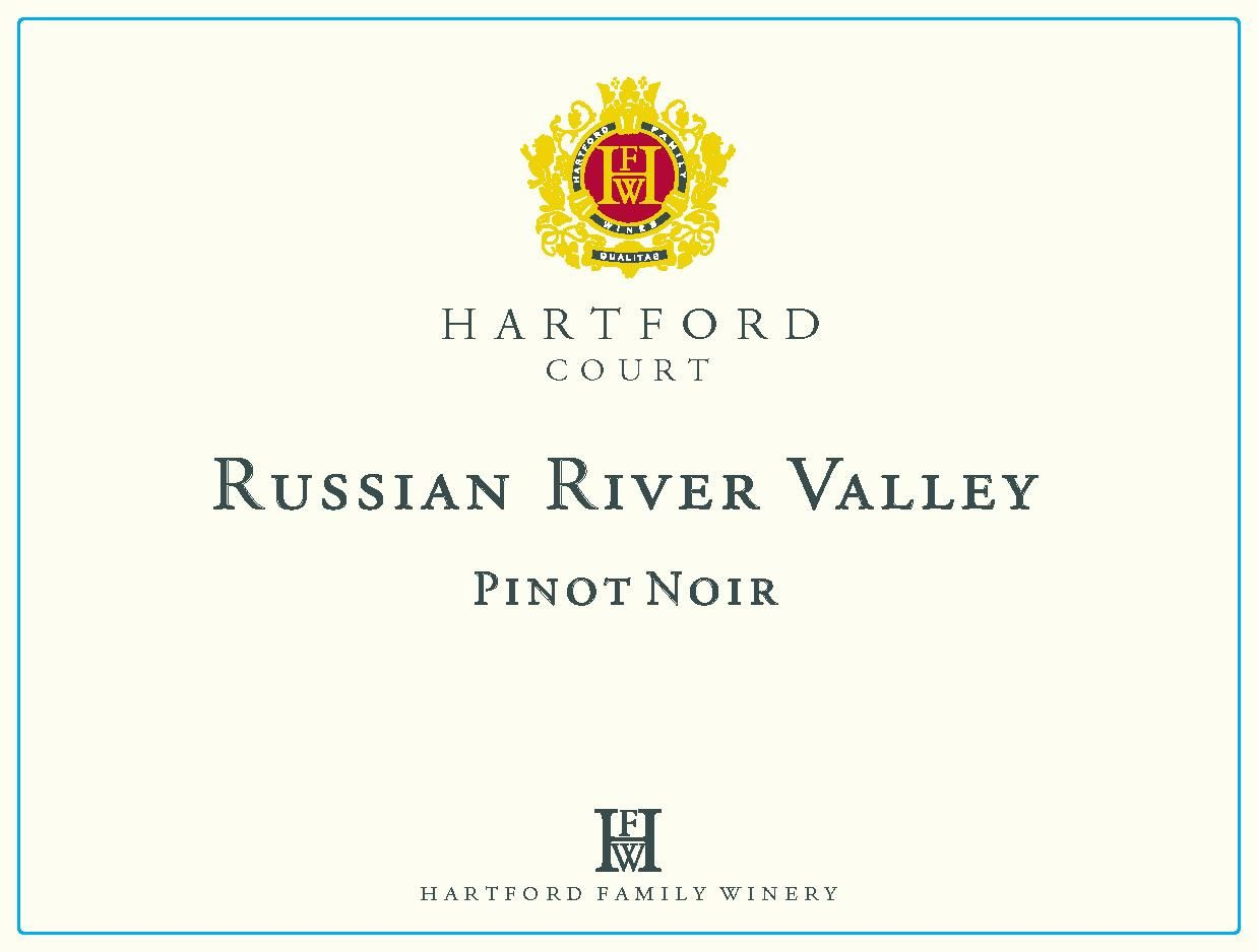 Hartford Court Russian River Pinot Noir (375ML half-bottle) 2017  Front Label
