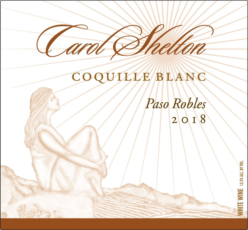 Carol Shelton Coquille Blanc 2018  Front Label