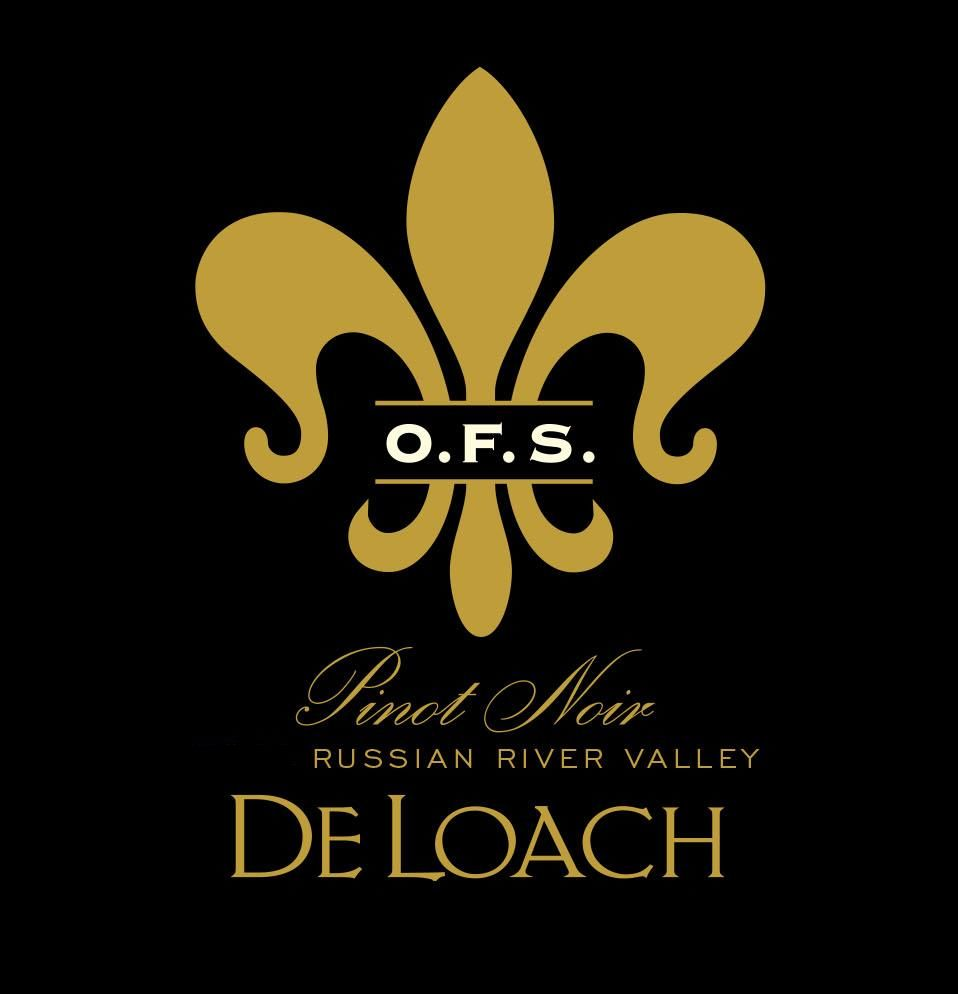 DeLoach O.F.S. Pinot Noir 2015  Front Label