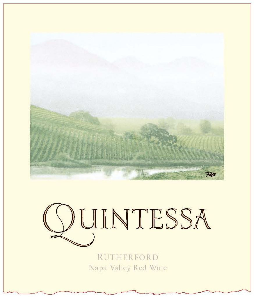 Quintessa (3 Liter Bottle) 2015 Front Label