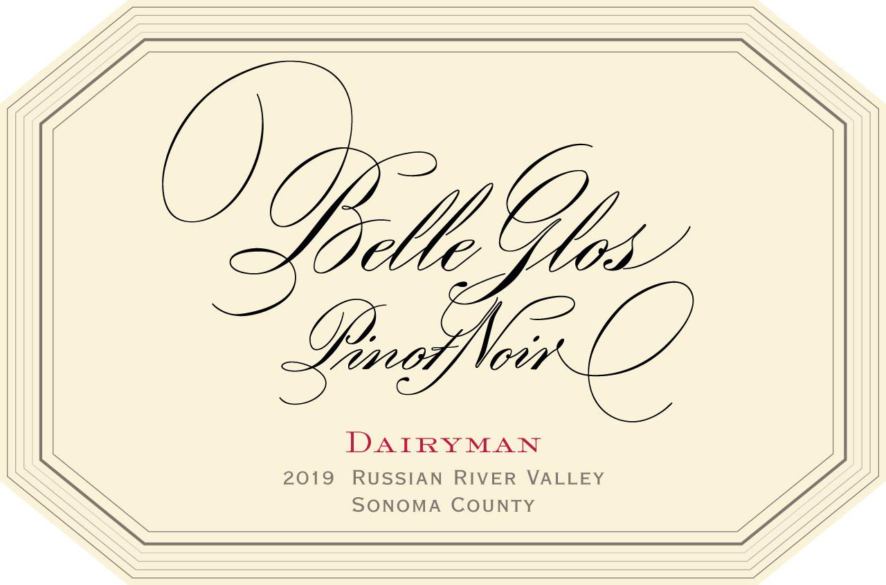 Belle Glos Dairyman Vineyard Pinot Noir 2019  Front Label
