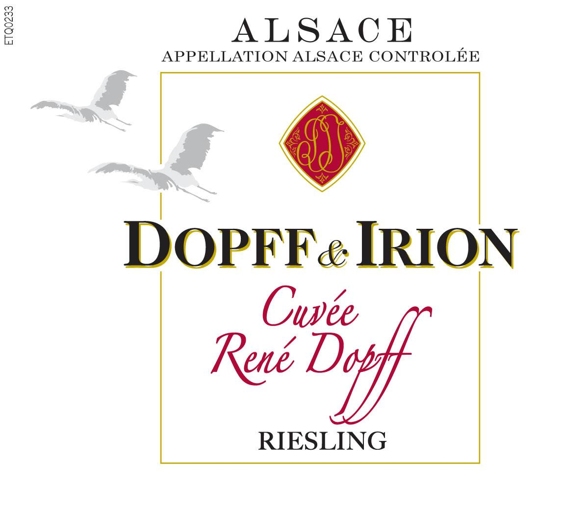Dopff & Irion Riesling 2018  Front Label