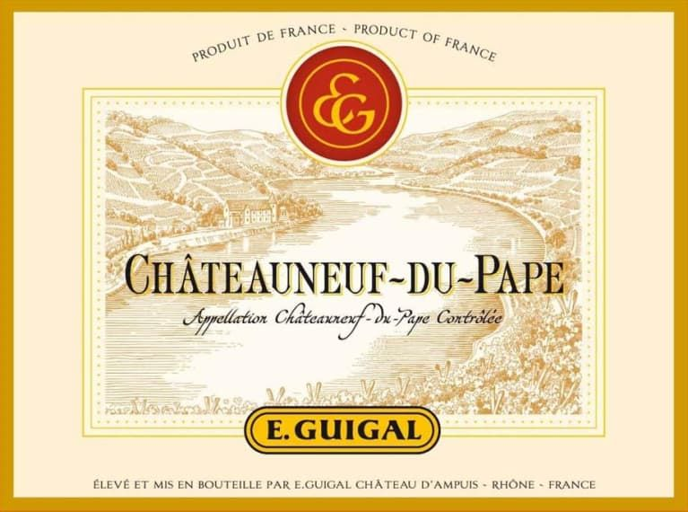 Guigal Chateauneuf-du-Pape 2016  Front Label