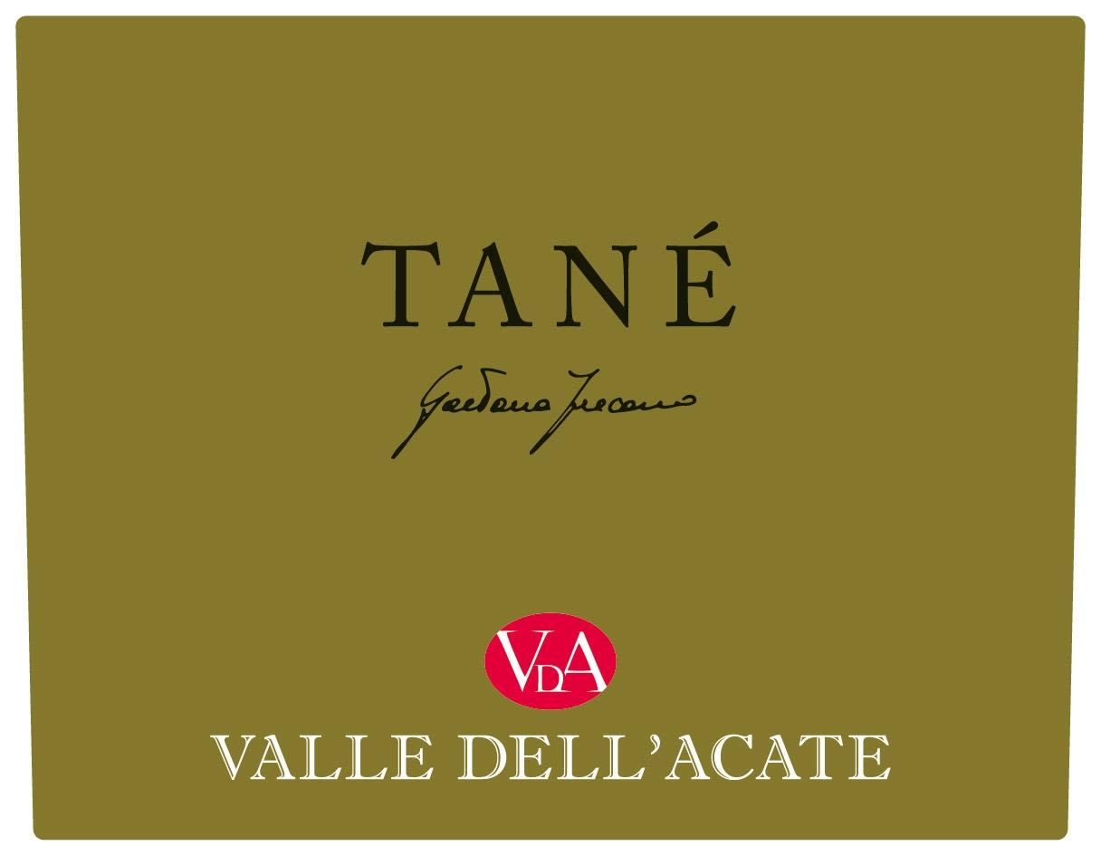 Valle Dell'Acate Tane 2013  Front Label