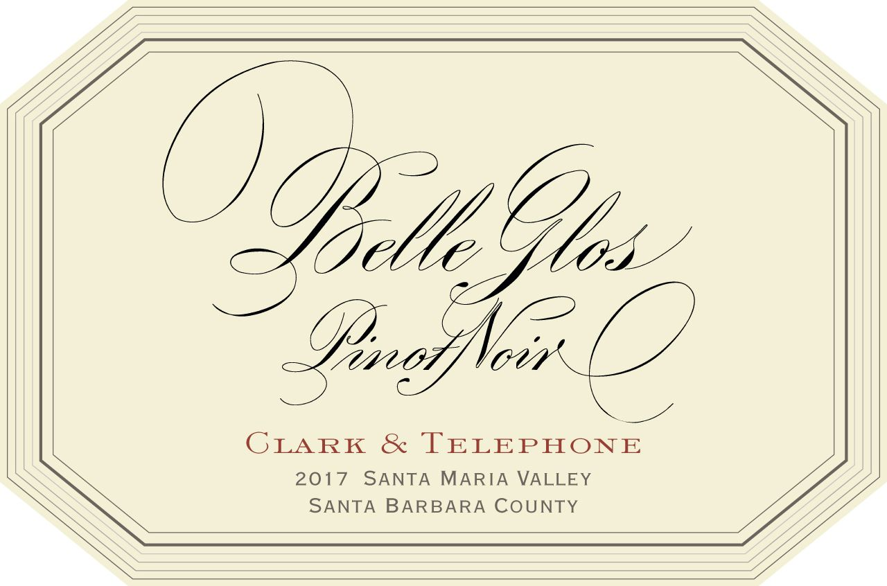 Belle Glos Clark and Telephone Vineyard Pinot Noir (1.5 Liter Magnum) 2017  Front Label