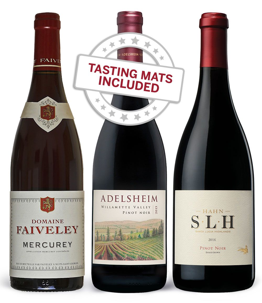 wine.com Wine Tasting Trio: Pinot Noir Gift Product Image