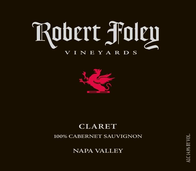 Robert Foley Vineyards Claret 2009  Front Label