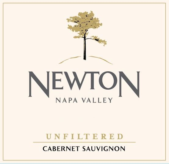 Newton Unfiltered Cabernet Sauvignon 2016 Front Label
