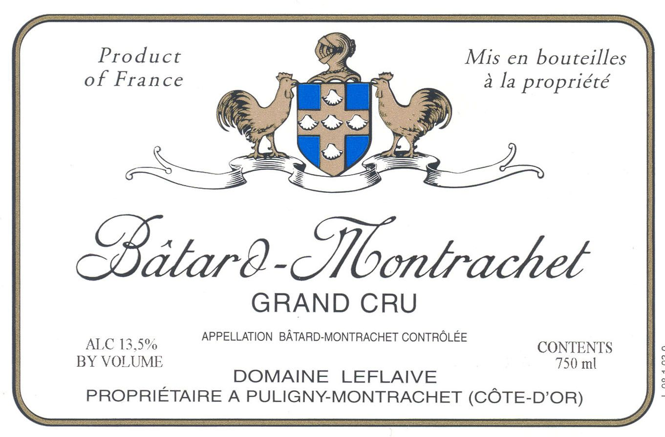 Domaine Leflaive Batard-Montrachet Grand Cru 2005  Front Label
